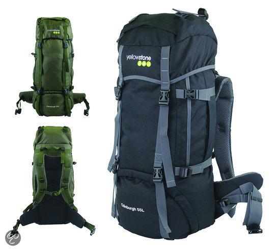 Yellowstone Edinburgh - Backpack - 55 Liter - Grijs;Groen in Laplaigne
