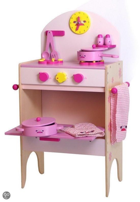 Houten Keuken Accessoires : bol.com Base Toys Houten Kinderkeuken met Accessoires,Base Toys