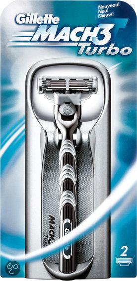 Gillette Mach 3 Turbo - Scheerapparaat