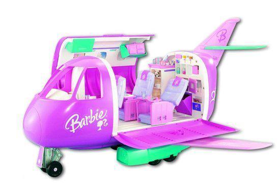 barbie glamour vliegtuig merk barbie schrijf als eerste een review ...