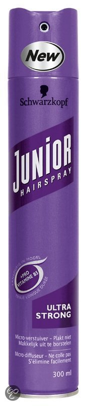 Schwarzkopf Junior Hairspray Ultra Strong