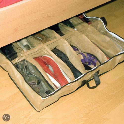 Garant o matic opbergbox wonen schoenen opbergzak for Boeken opbergsysteem