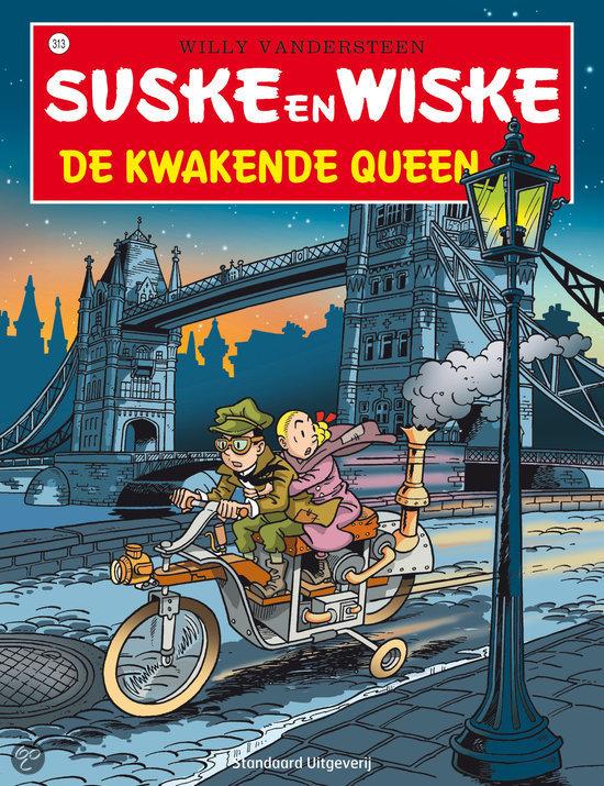 Suske en Wiske 313 De kwakende queen