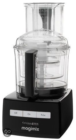 magimix foodprocessor cuisine systeme 4200 xl 18436nl zwart elektronica. Black Bedroom Furniture Sets. Home Design Ideas