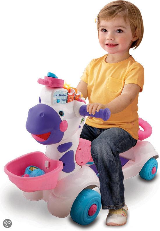 Vtech 3 in 1 zebra step roze vtech speelgoed for Bureau vtech 3 en 1