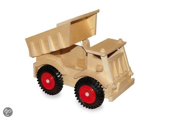 Base Toys Houten Kiepauto