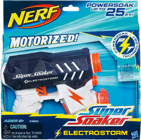 Nerf Super Soaker Electrostorm - Waterpistool