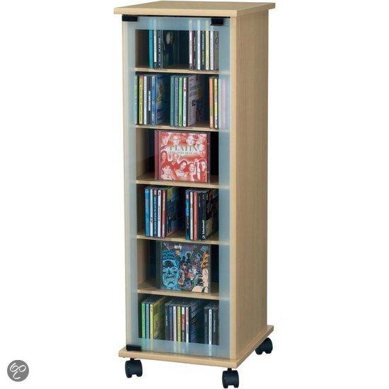 Cd dvd rek opbergkast meubel computer - Wereld thuis cd rek ...
