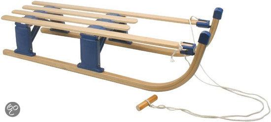 Nijdam Opklapbaar - 110 cm - Houten Slee