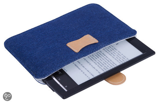 Gecko Covers Universele Sleeve - Denim