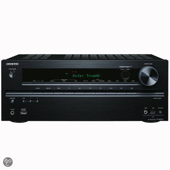 Onkyo TX-NR515 - 7.2 AV-receiver - Zwart