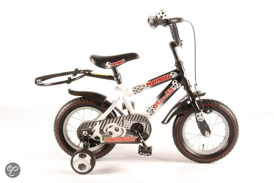 Yipeeh Voetbal 12 inch Kinderfiets