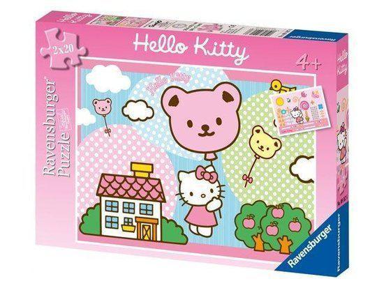 Ravensburger 2x20 Stukjes - Hello Kitty Stijgt Op