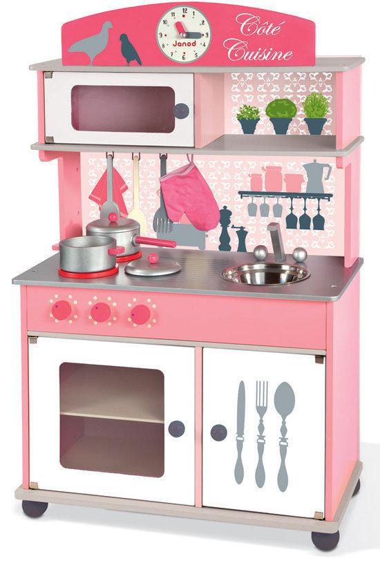 Janod keuken groot janod speelgoed - Cucina giocattolo in legno ...