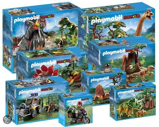 1742 playmobil bundel dino 39 s playmobil speelgoed - Dinosaur playmobile ...