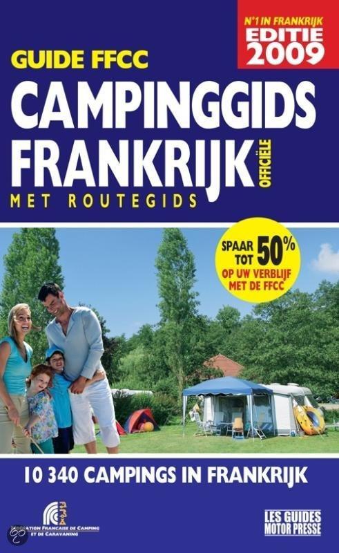 Campinggids Frankrijk FFCC 2009