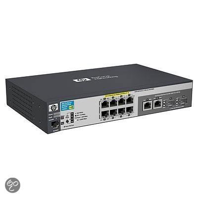 HP switch: ProCurve 2915-8G-PoE Switch