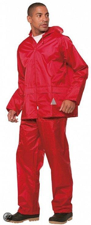 Result - Regenpak - Unisex - Maat XL - Rood in Koog aan de Zaan