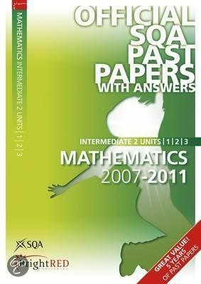 sqa intermediate 2 maths past papers