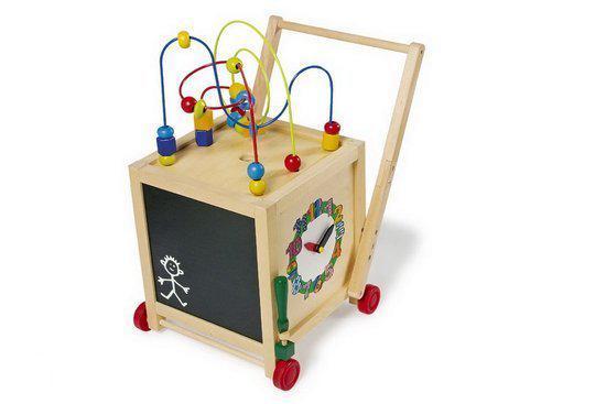 Base Toys Houten Activiteiten Duw/loopwagen