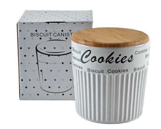 bol com DSM Cookies Voorraadbus 3,5 l Wit Koken en