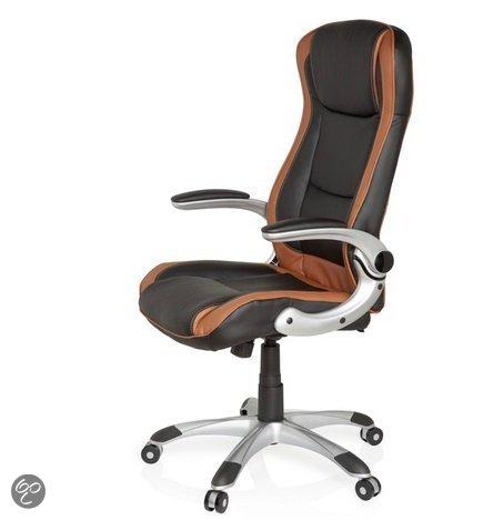 hjh office Racer Compact - Bureaustoel - Lichtbruin / zwart in Herdersem