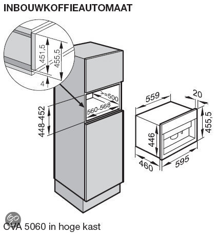 miele inbouw espressoapparaat cva 5060 sw zwart elektronica. Black Bedroom Furniture Sets. Home Design Ideas