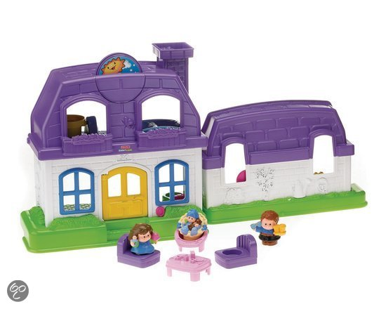 Fisher-Price Little People Grappige Geluiden Huis - Speelset