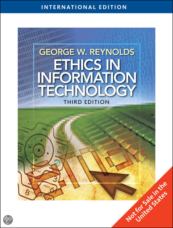 ethics and information technology Information technology has an ambiguous impact on society this situation calls for a two-level ethical analysis on the one hand the issues of power and control must be reconsidered under the viewpoint of institutional structures, ie, of living norms on the other hand, the technological shaping .