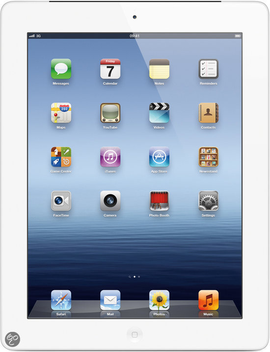 Apple iPad 4 Retina - Wit/Zilver - 32GB - Tablet