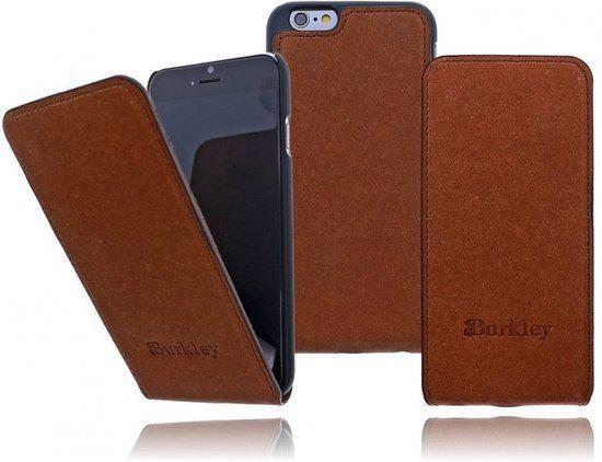 Burkleyu00ae Apple iPhone 6 (4.7-inch) Lederen Flip Case Hoesje Koffie ...