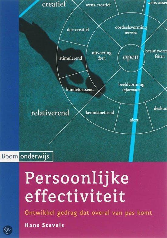 Persoonlijke effectiviteit / druk 3