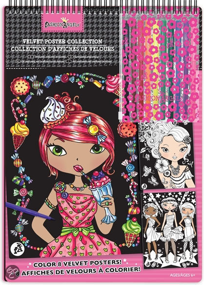 Fashion Angels Velvet Poster Collectie