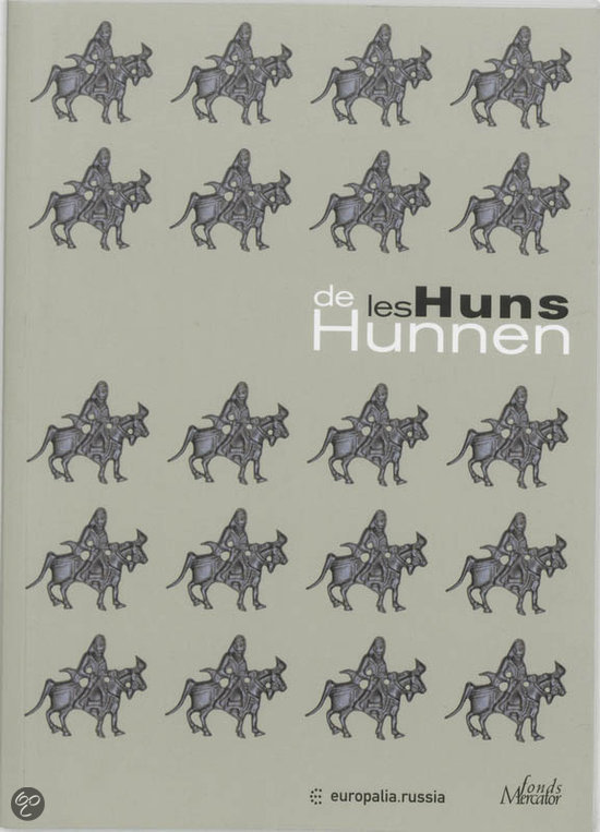 Cover van het boek 'De Hunnen Les Huns'