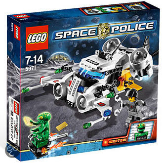 LEGO Space Police - De Goudroof 5971