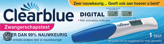 Clearblue Digital  - Zwangerschapstest