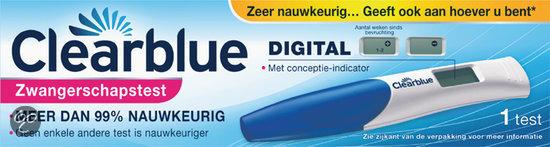 Clearblue Digital - 1 stuk - Zwangerschapstest