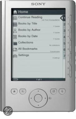 Sony Reader Pocket Edition (PRS300) - zilver