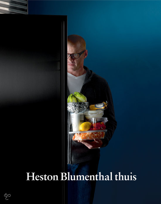 Heston Blumenthal thuis