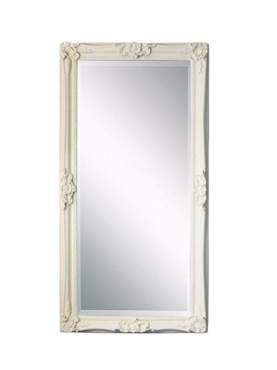 fortuijn barok spiegel hout 190x90 cm wit. Black Bedroom Furniture Sets. Home Design Ideas