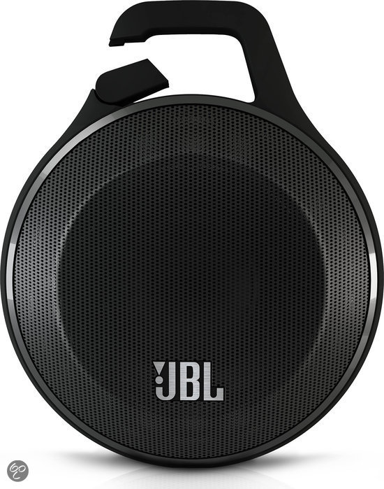 jbl clip bluetooth speaker zwart elektronica. Black Bedroom Furniture Sets. Home Design Ideas