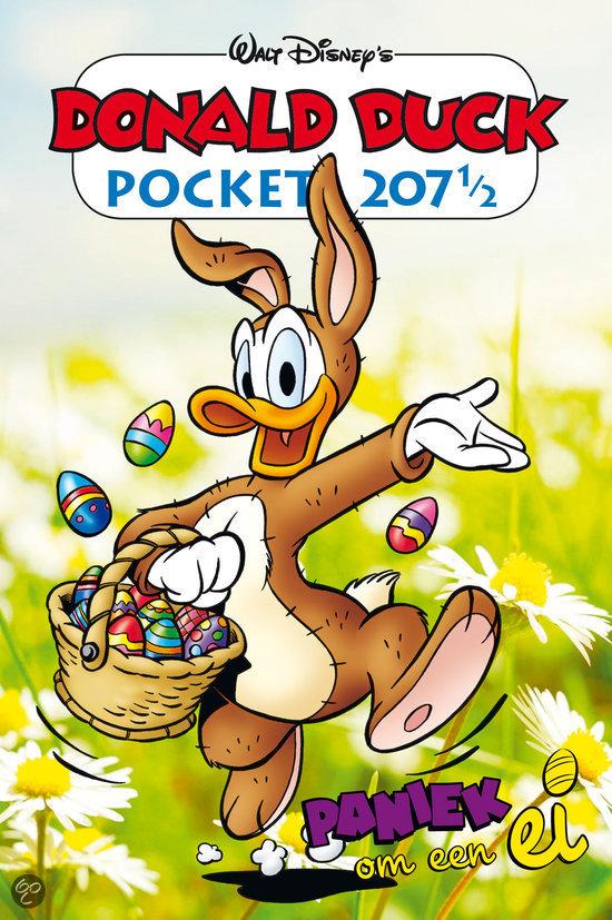 bol donald duck pocket 207 189 paniek om een ei