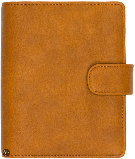 Schoolagenda Medium Basic Basic cognac