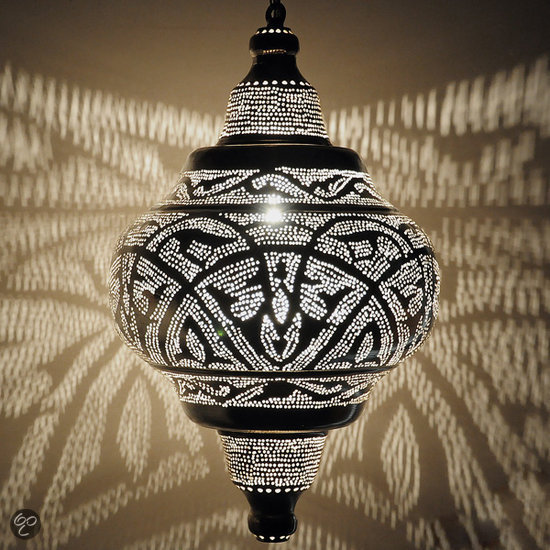 nour lifestyle arabische hanglamp basha maat xl. Black Bedroom Furniture Sets. Home Design Ideas