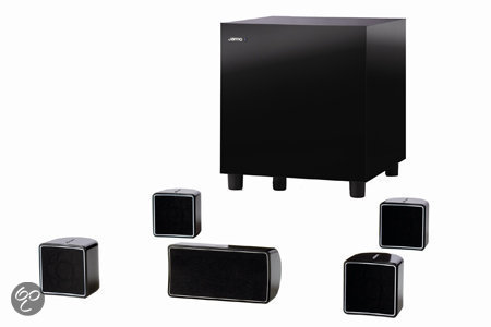 Jamo A 102 HCS 6 - 5.1 Speakerset - Zwart