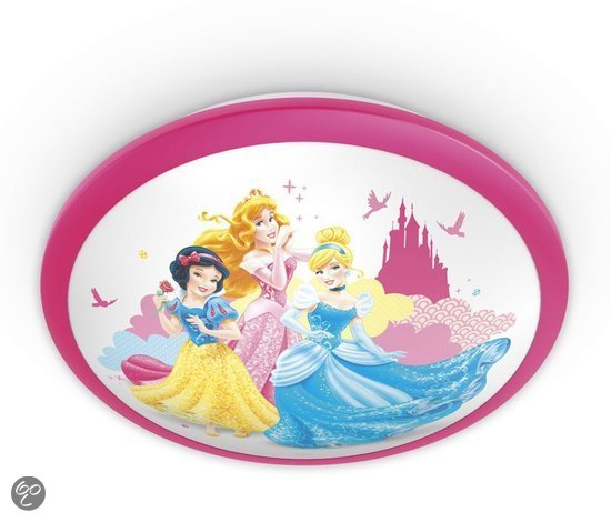 bol.com  Philips Disney Princess - Plafonniere - LED - Roze  Wonen