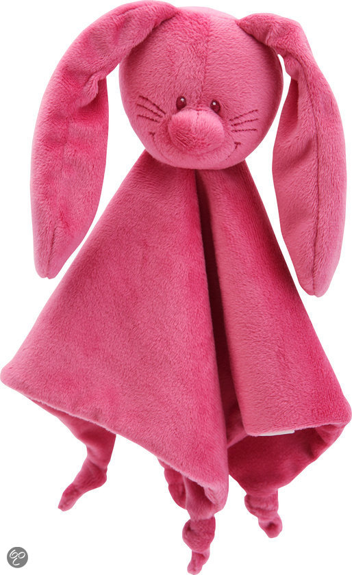 Bunny Basic Knuffeldoekje Fuchsia