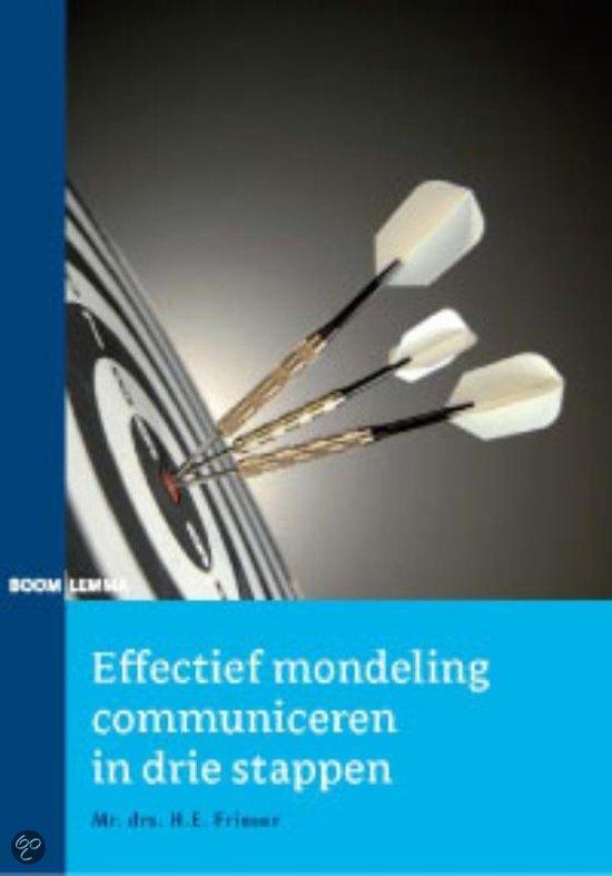 Effectief mondeling communiceren in drie stappen