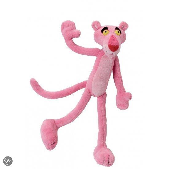 Pluche Pink Panther bean bag 22 cm in Schoorveld