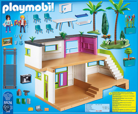 4279 villa moderne de playmobil for 4279 playmobil